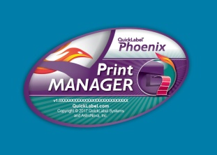 Phoenix Printer Manager splash screen design