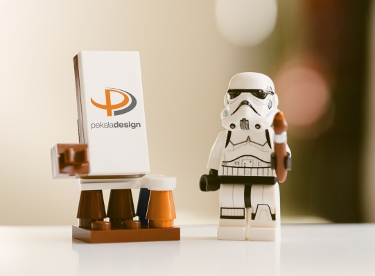"""Image for LinkedIn promoting Pekala Design's services for the Star Wars Holiday """"May the 4th"""". Caption that accompanied it read: """"Corporate Empire experience, but working for the Rebels. Available for freelance graphic design and more: pekaladesign.com. May the Fourth be with you."""""""