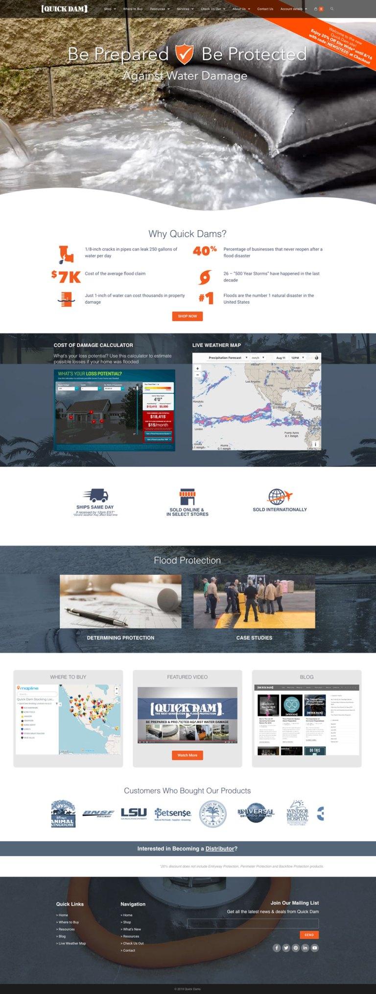 quickdam_website_homepage_entire